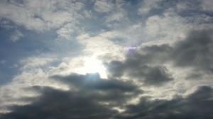 El sol siempre esta presente, aunque haya nubes que lo cubran...aprécialo en cada respiro... ahhhhh