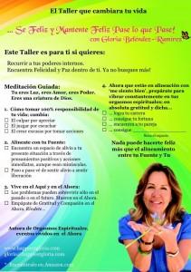Taller Gloria Belendez-Ramirez